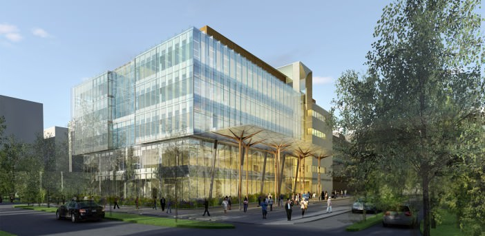 UBC Centre for Brain Health:  Functional Program (photo: Perkins + Will Architects)